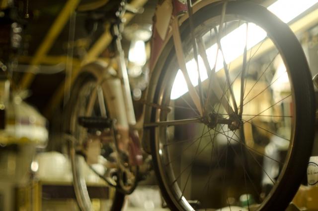 自転車のサビ落とし。ピカールという金属研磨剤で挑む