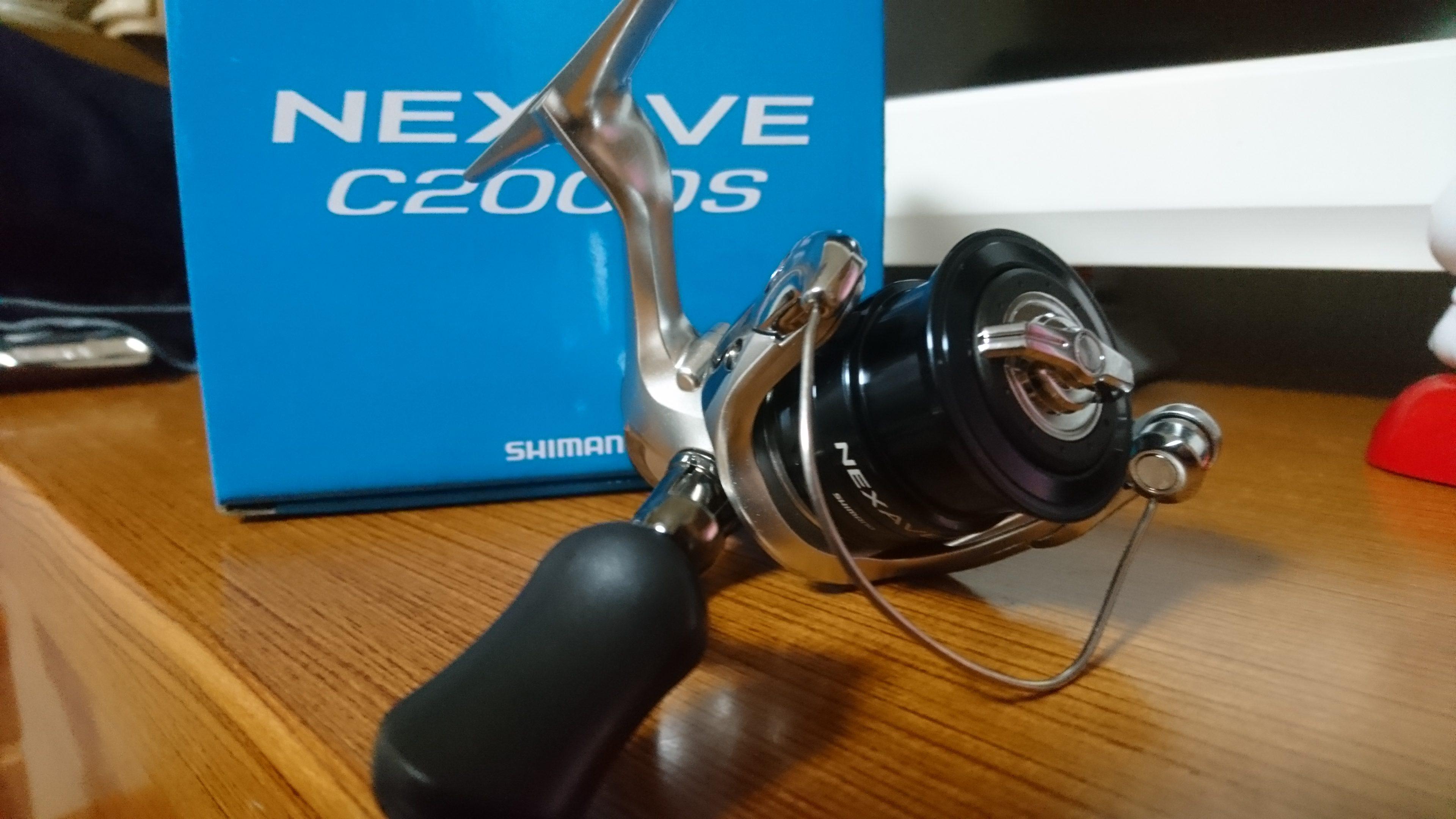 シマノ NEXAVEC2000Sを購入して評価 ~バリュープライスシリーズで快適な釣り~